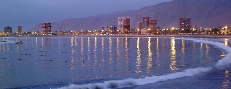 Atardecer Playa Cavancha, Iquique